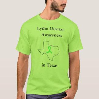 Lyme Krankheits-Bewusstsein in Texas-Shirt T-Shirt