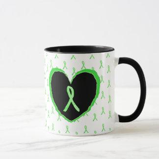 Lyme Krankheits-Bewusstseins-Kaffee-Tasse mit Lyme Tasse