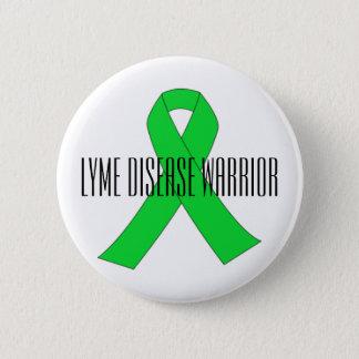 Lyme Krankheits-Krieger-Button Runder Button 5,7 Cm