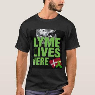 Lyme lebt hier in Dänemark-Shirt T-Shirt