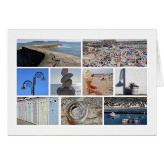 Lyme Regis Multibild Grußkarte