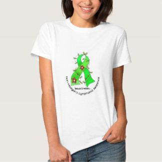 Lymphom-Bewusstsein Non-Hodgkins BLUMEN-BAND 1 Shirt
