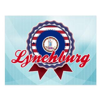 Lynchburg, VA Postkarte