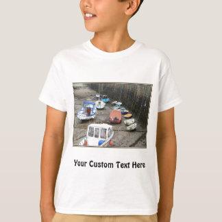 Lynmouth Hafen mit Booten T-Shirt