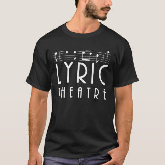 Lyrischer Theater-T - Shirt
