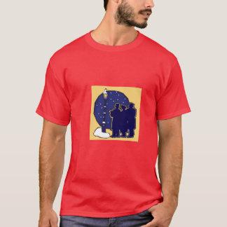 Lyrischer viktorianischer Carolers-T - Shirt