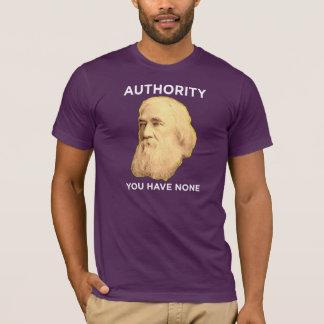 Lysander Spooner keine Berechtigung T-Shirt