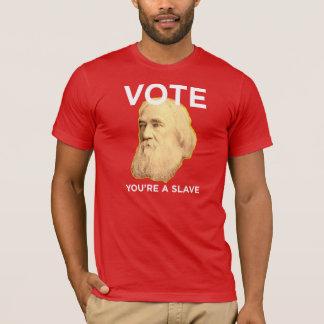 Lysander Spooner keine Meister keine Sklaven T-Shirt