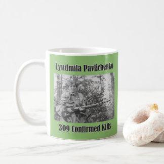 Lyudmila Pavlichemko Kaffeetasse