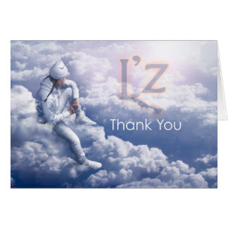 "L'z ""danken Ihnen"" Gruß-Karte, w/envelope Karte"