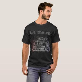 M4 Sherman Diagramm T-Shirt