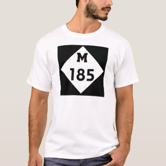 M-185   Mackinac Insel-Michigan-Landstraße T-Shirt