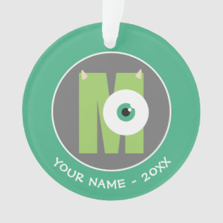 M ist für Mike | addieren Ihren Namen Ornament
