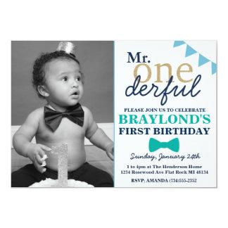 M. Onderful Birthday Invitation