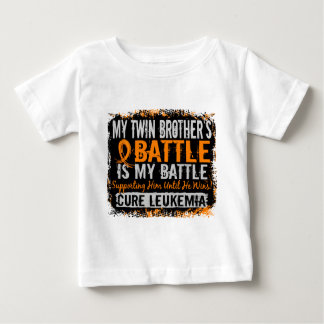 Ma bataille frère jumeau de trop 2 leucémies tshirts