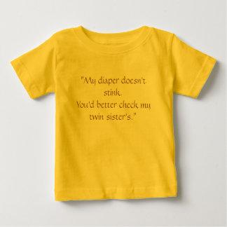 """""""Ma couche-culotte n'empeste pas. Vous devriez T-shirt"""