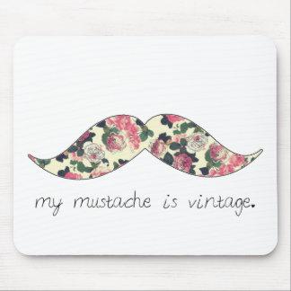 ma moustache est mousepad vintage tapis de souris