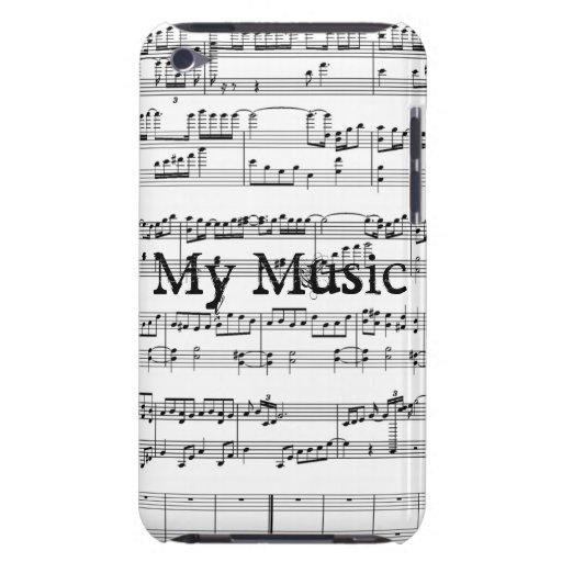 Ma musique ! coque Case-Mate iPod touch