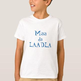 Maa DA Laadla (der Liebling der Mama) T-Shirt