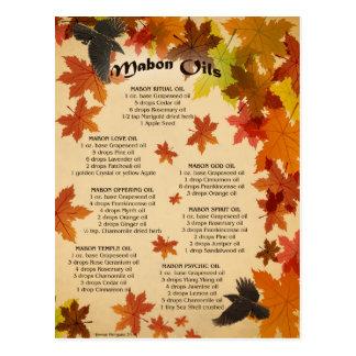 Mabon ölt Postkarte