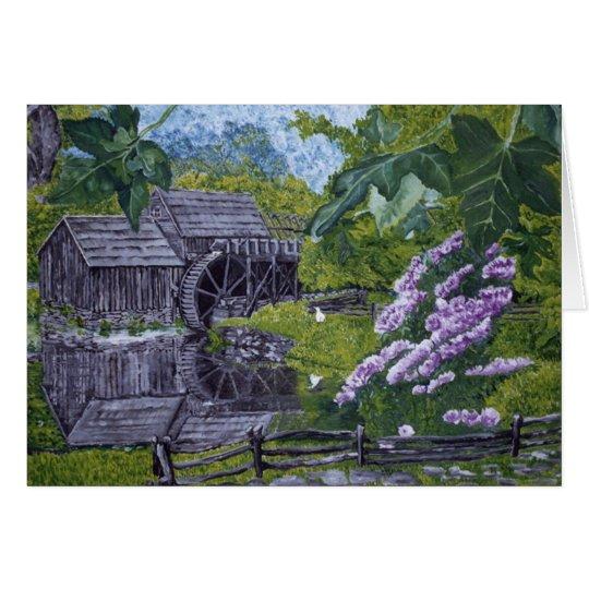 Mabry Mühle Karte