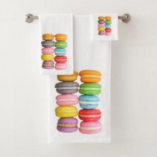 Macarons Badhandtuch Set