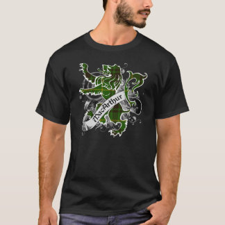 MacArthur Tartan-Löwe T-Shirt