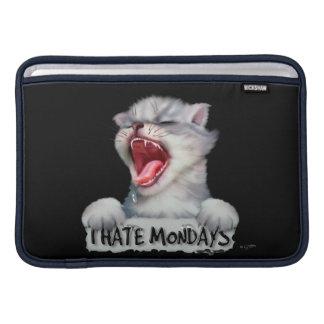 "Macbook CARTOON CAT MONTAG NIEDLICHE Luft - 11"" MacBook Air Sleeve"