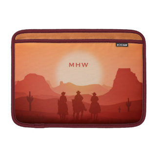 MacBook-Hülsen Monogramm Arizona-Sonnenuntergangs Sleeve Fürs MacBook Air