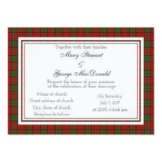 MacDonald Glencoe der schottischen Karte