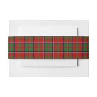 MacDonald Glencoe des schottischen Einladungsbanderole