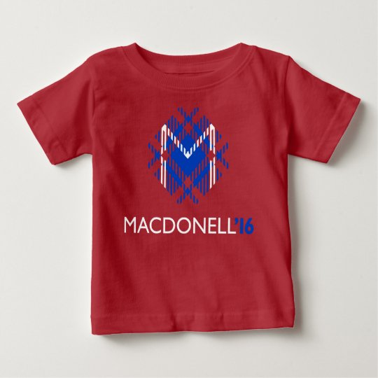 MacDonell Baby 2016 (rotes Party) Baby T-shirt