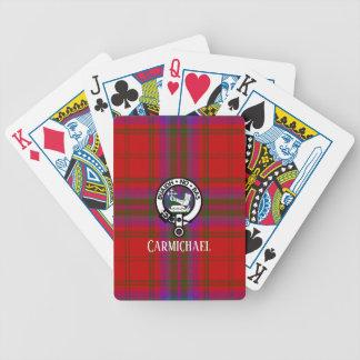 Macdougall Tartan kariert und Wappen Bicycle Spielkarten