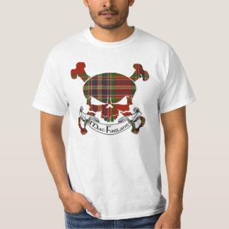 MacFarlane Tartan-Schädel T-Shirt