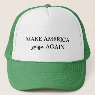 MACHEN Sie AMERIKA مهاجر WIEDER Truckerkappe