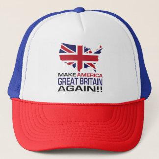 Machen Sie Amerika Großbritannien wieder! Truckerkappe