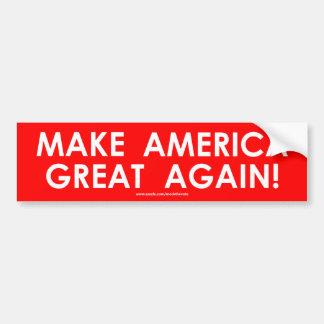 Machen Sie Amerika großen wieder - Autoaufkleber -