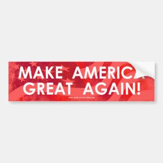 Machen Sie Amerika großen wieder - Autoaufkleber