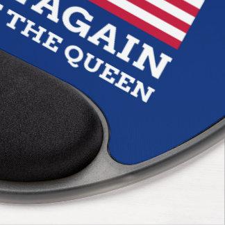 Machen Sie Amerika königlich wieder Gel Mousepad