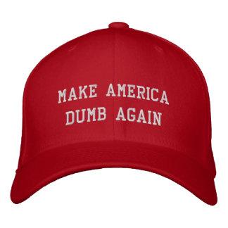 Machen Sie Amerika stumm wieder Bestickte Caps