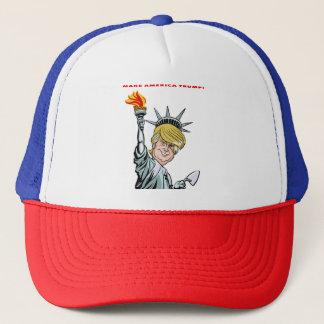 Machen Sie Amerika-Trumpf! Fernlastfahrerhut, Truckerkappe