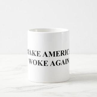 Machen Sie Amerika weckte wieder Tasse