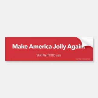 """""""Machen Sie Amerika ziemlich wieder"""" 11"""" x 3"""" Autoaufkleber"""