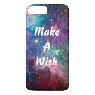 Machen Sie einen Wunsch iPhone 7 Plusfall! iPhone 8 Plus/7 Plus Hülle