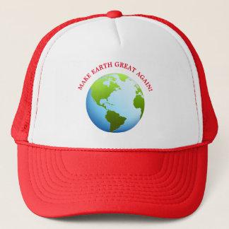 Machen Sie Erde groß wieder Truckerkappe