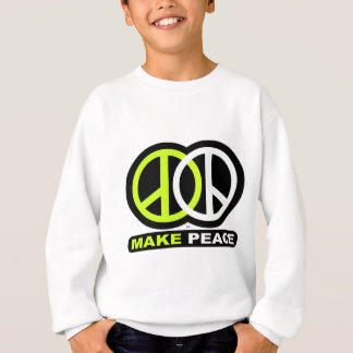 Machen Sie FRIEDEN neues Friedenssymbol Sweatshirt