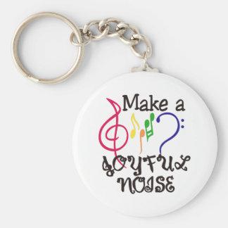 Machen Sie frohen Geräusche Schlüsselanhänger