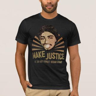 Machen Sie Gerechtigkeit T-Shirt