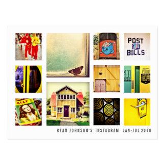 Machen Sie Ihr eigenes Instagram quadratische Postkarte