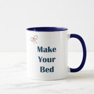 Machen Sie Ihre Bett-Erinnerungen Tasse